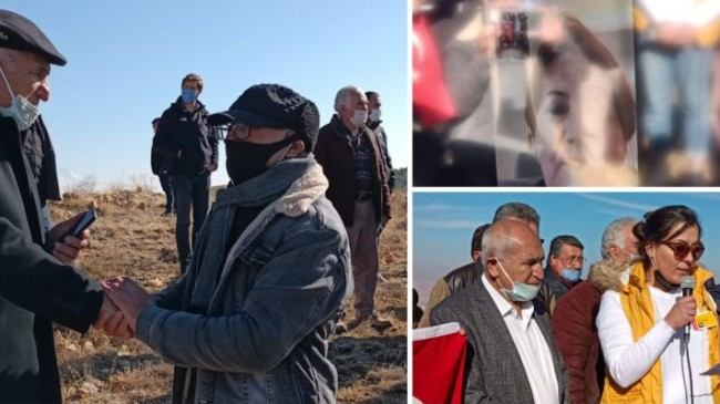 İYİ Parti, Genel Başkan Akşener'in katılımıyla, siyanürlü altın aramayı protesto etti