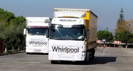 Whirlpool Corporation, depremden etkilenen ailelere destek olarak 500 beyaz eşya bağışladı