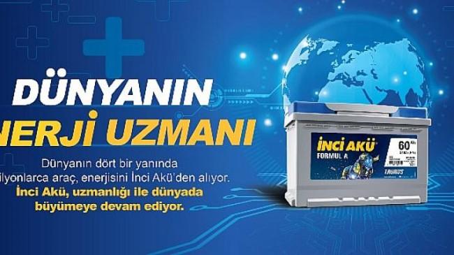 İnci Akü, bir kez daha Türkiye'nin en değerli akü markası seçildi