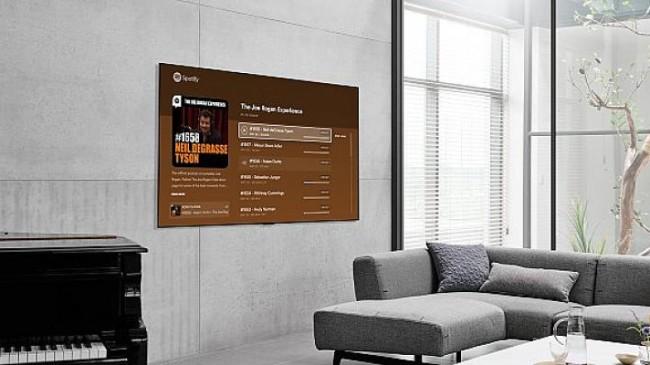 LG Smart TV Kullanıcıları, Spotify Video Podcast'lerini Büyük Ekranda Deneyimleyebilecekler