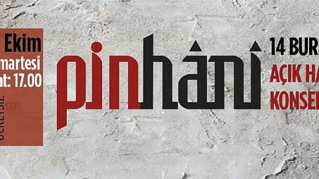 14 Burda AVM'de Pinhani konseri